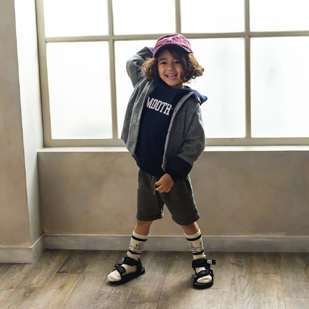 3-4 boys beginning of autumn outfit model