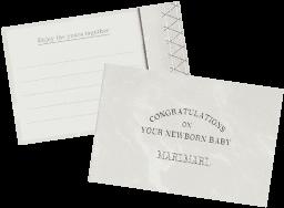 さりげなくnoshi に差し込んで、お祝いの気持ちを伝えるメッセージカードです。※オンラインショップのみ、カードへの印字を¥100+taxで承ります。