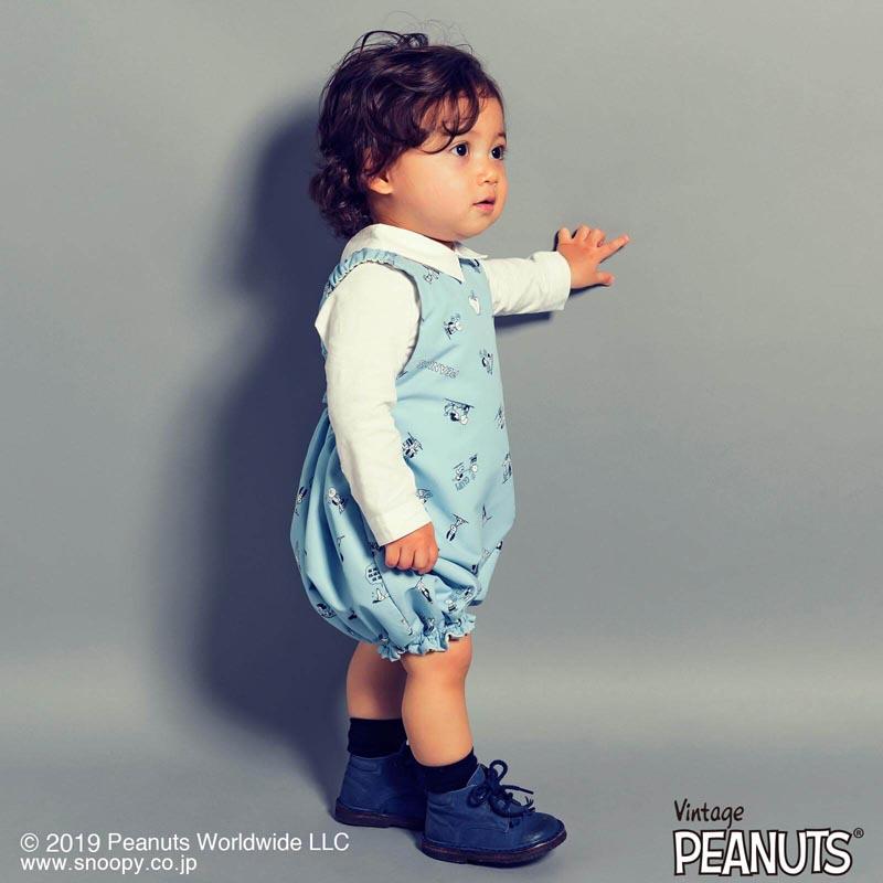 Peanuts 5 crew blue
