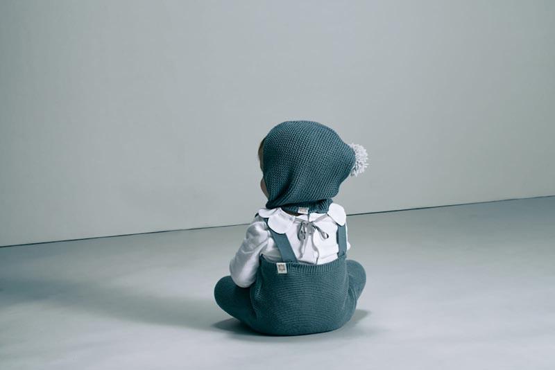 マールマール 男の子用、6ヶ月~12ヶ月 knit bonnet