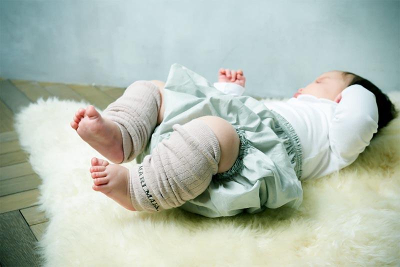 マールマール 男の子用、6ヶ月~12ヶ月 leg warmers