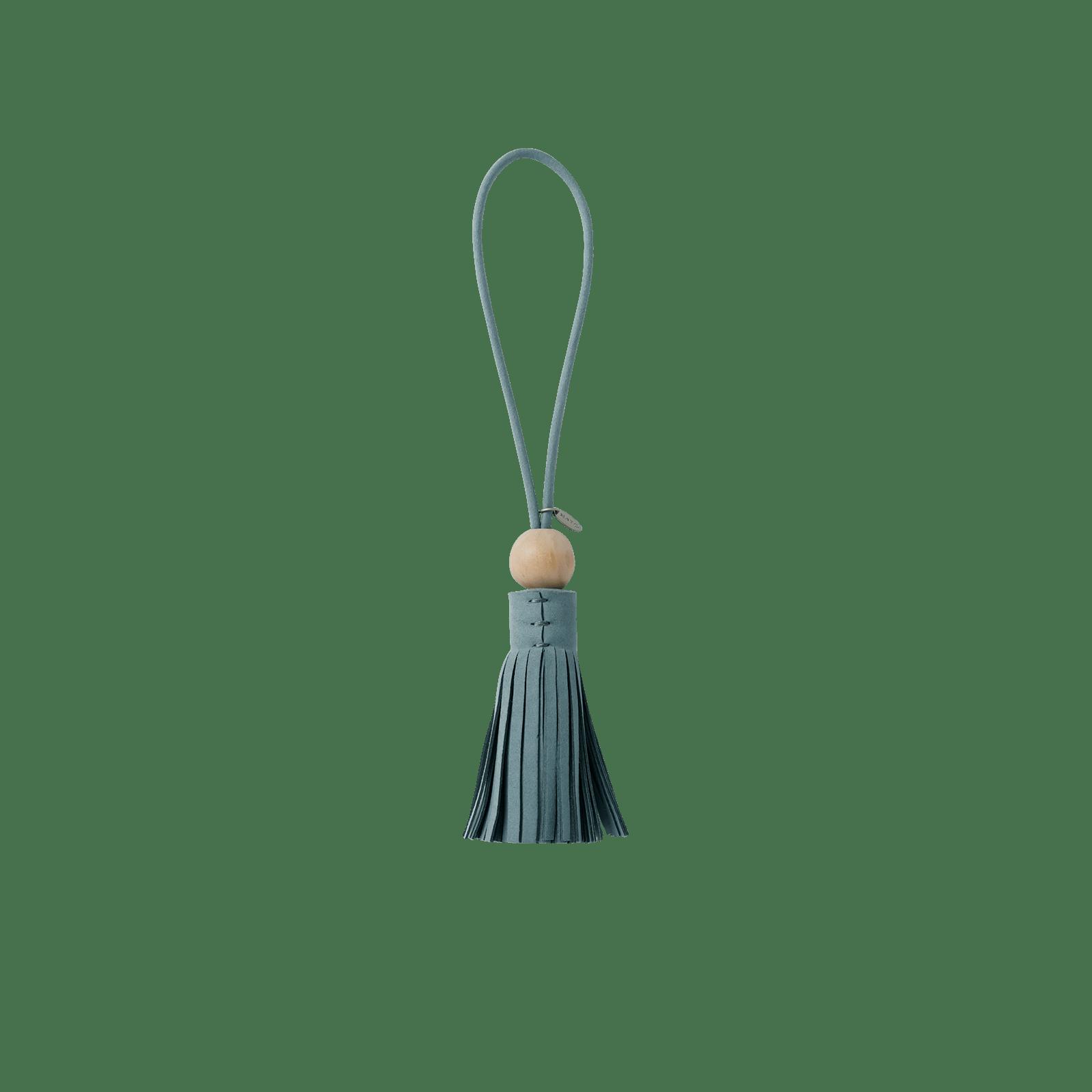 broom tassel 4 azure