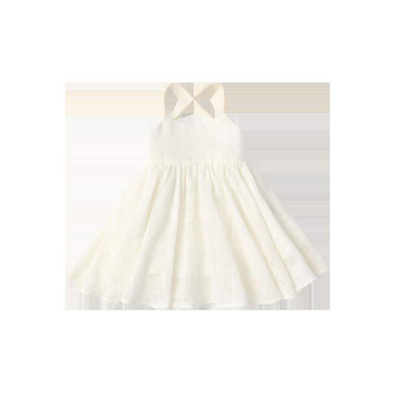 doudou dress airy white