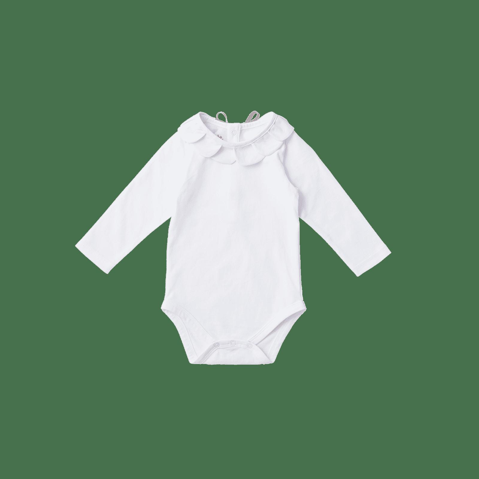 bodysuits 3 petal white