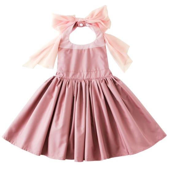お食事エプロンbouquet 2 rose pink for baby サムネイル