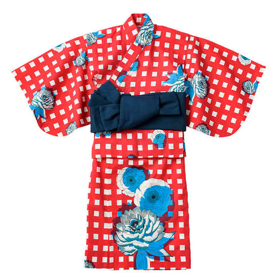 yukata 1 botan for kids サムネイル