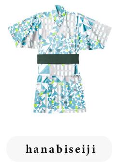 ベビー浴衣 yukata 4 hanabi seiji for baby