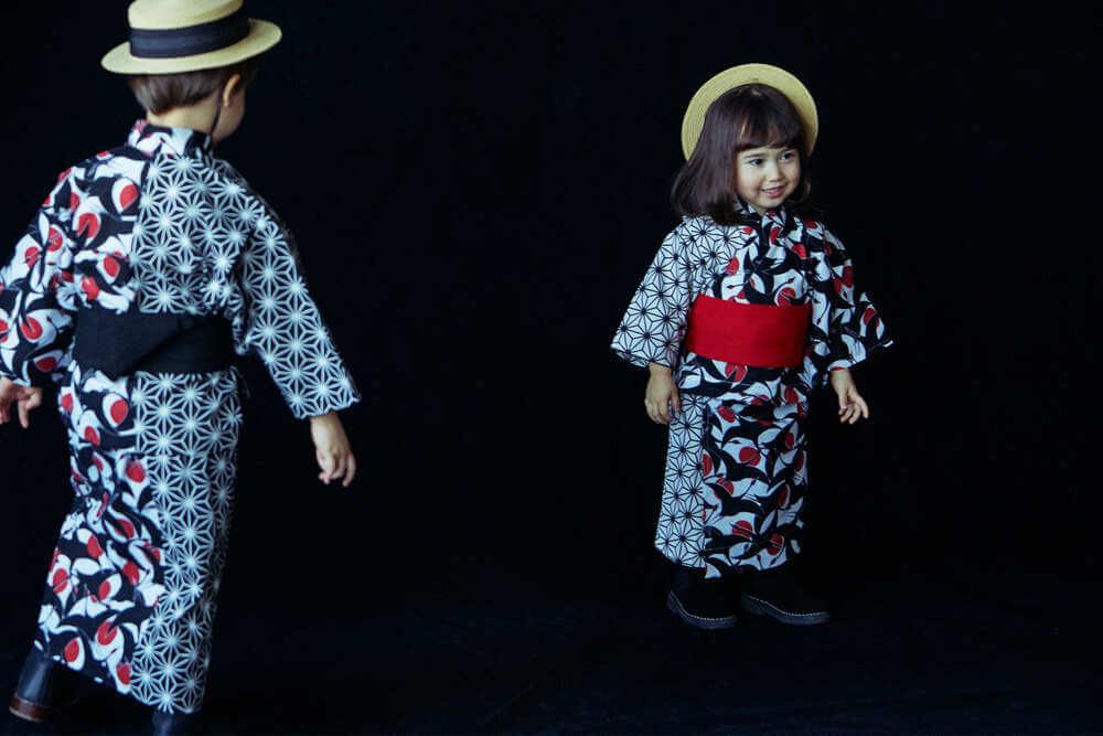 MARLMARLの浴衣は日本の文化を大切に、伝統模様をMARLMARLの世界観でアレンジしたゆかた