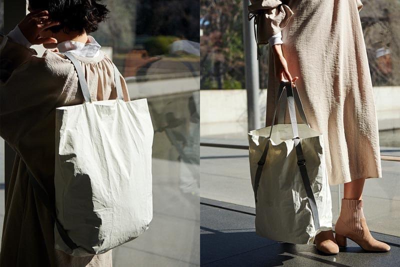 マールマール 2wayエコリュック bucket backpack 1 white