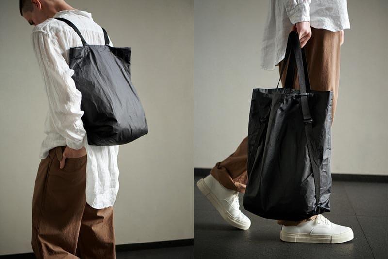 マールマール 2wayエコリュック bucket backpack 2 black