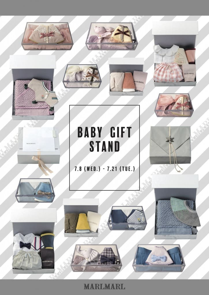 MARLMARL BABY GIFT STAND in 博多