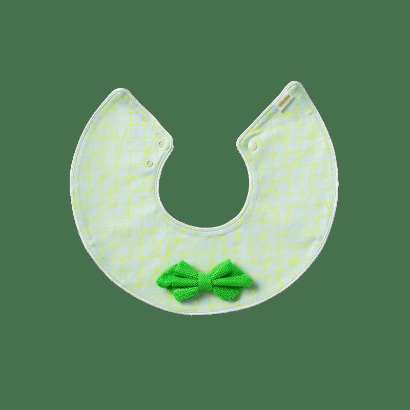マールマール スタイ(名入れ刺しゅう可) joujou 4 crinkle green