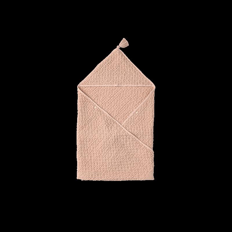 マールマール タオル(名入れ刺しゅう可) hooded towel 2 apricot