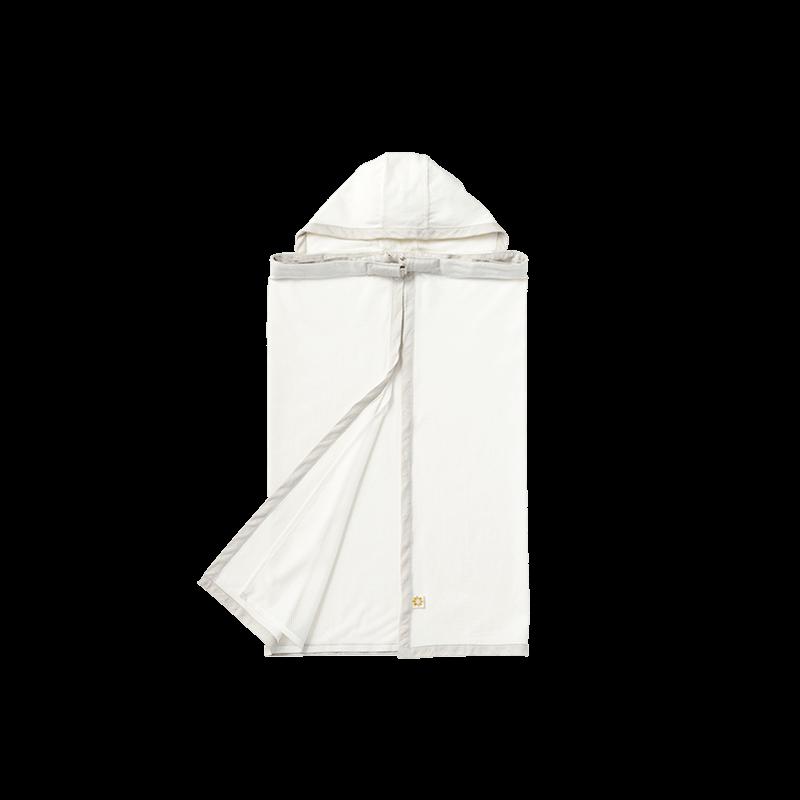 マールマール 夏用ベビーカバー(名入れ刺しゅう可) baby cover luce 1 white