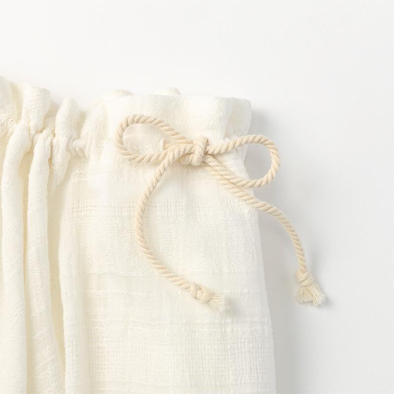 マールマール doudou dress airy white