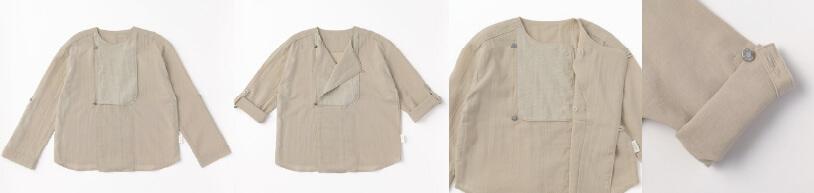 ブランド初の120cmサイズアイテムが登場!【shirts & blouse】 出産祝い・ギフトならMARLMARLのスタイ